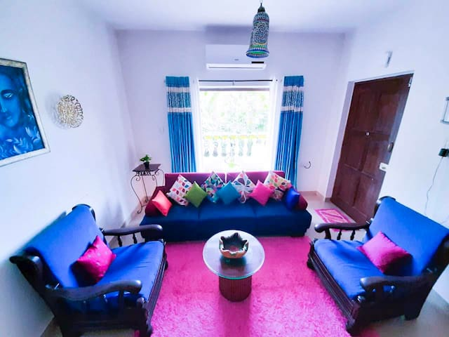 PEARL BLUE SUITES  with POOL candolim beach