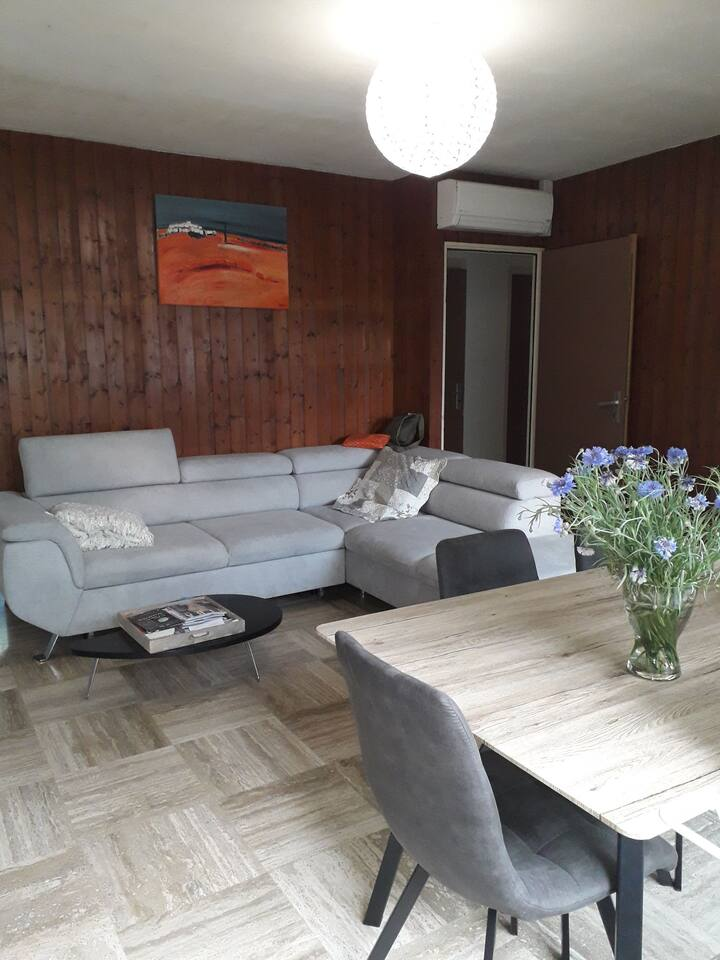 Appartement spacieux,  agréable, lumineux, calme.