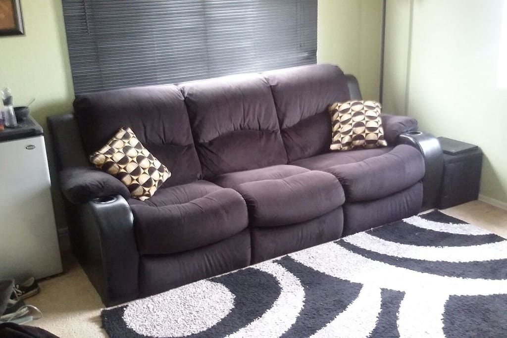 Comfy Couch in Loft Area