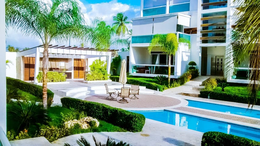 Lovely private 2BR apartment walk to the beach+M - Punta Cana - Appartement