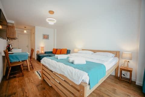 Pleasant apartment in New Gudauri next to ski lift