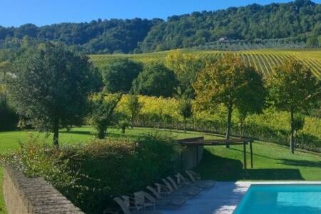 Room with a view on the Palazzone Winery Estate - Rocca Ripesena - Bed & Breakfast