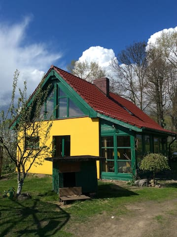 Oksza - Urlaub im Nationalpark Wartamündung - Kreisstadt Witnica - Talo