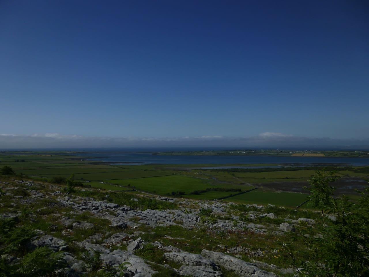 The UNESCO Geo heritage park,  The Burren
