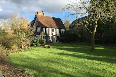 Elizabethan Manor House.Staffs /Shropshire border - Lapley
