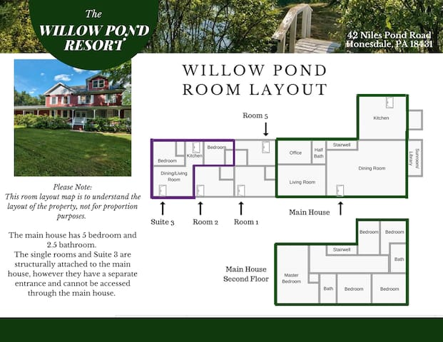 Willow Pond Resort- Room #1