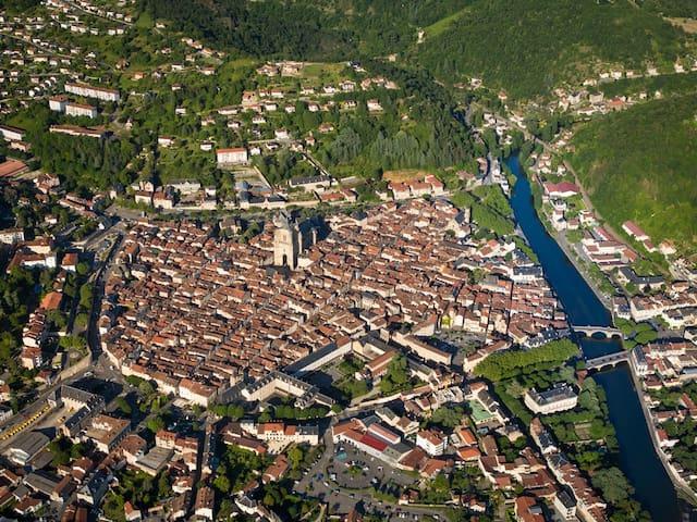 Chambres d'hotes sud ouest de la France - Toulonjac - Gästehaus