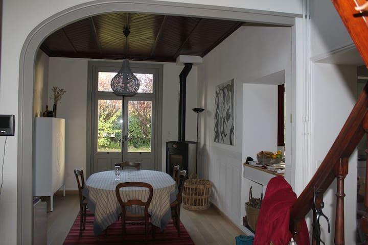 Maison entourée d'un jardin - Montoir-de-Bretagne - บ้าน