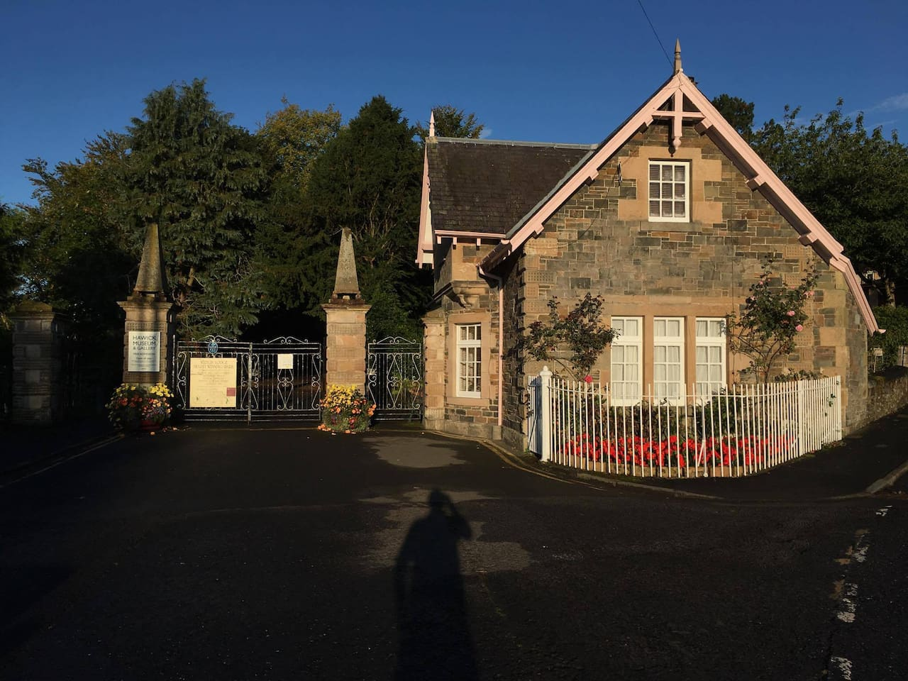 Entrance Lodge is the gatehouse to the famous Wilton Lodge Park of the Scottish Borders