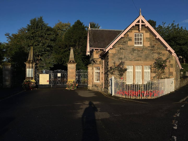 An Historic Gatehouse on the River Teviot