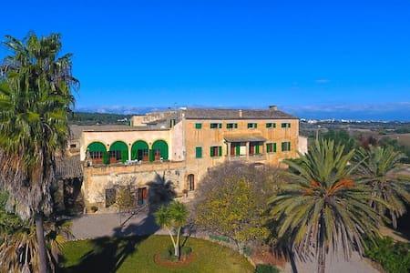 """Habitación """"Es Garrover""""  Agroturismo con piscina - Petra - Σπίτι"""