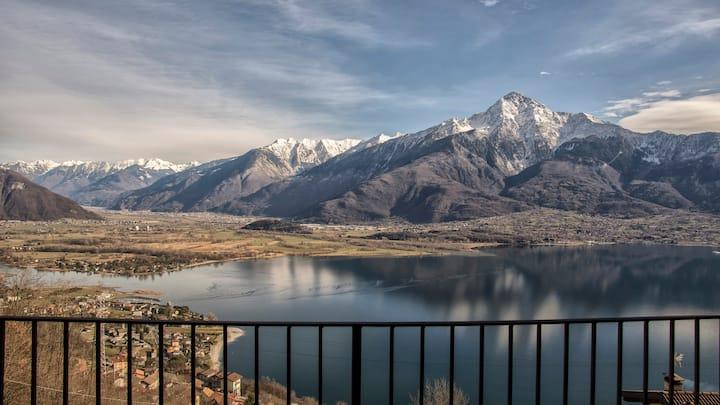 Residence Campasc con spettacolare vista (2 unità)