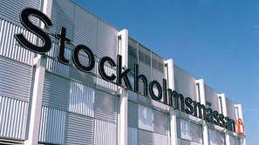 Stockholmsmässan (Älvsjömässan)