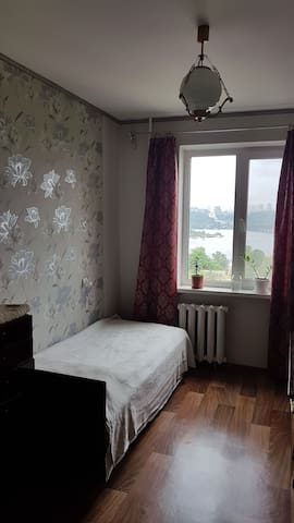 Room in apartments near river Dnipro