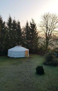 Yurt in de polder