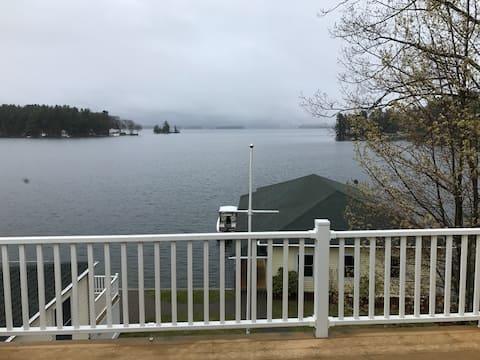 Winnipesaukee Waterfront Rental in Gilford, NH.