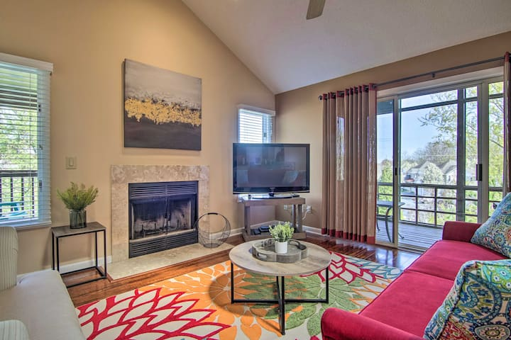 NEW! Condo w/ 2 Balconies & 3 Pools <2 Mi to Beach