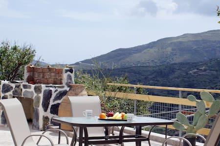 Cosy house with view to Sougia & White Mountains 1