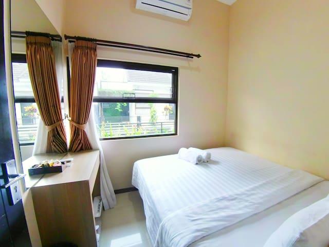 Villa 2 kamar ber AC dekat Museum Angkut Batu