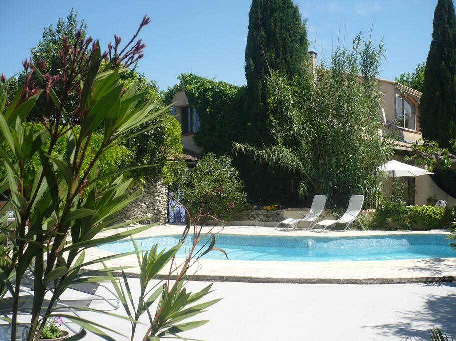 La piscine, 8,5 m x 4,5 m