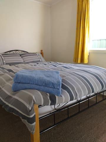 #1 bedroom - queen bed.