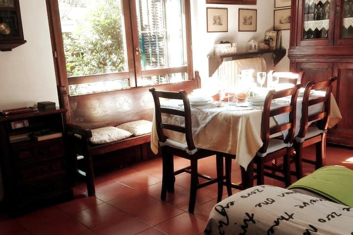 Relax in casa con giardino vicina a Monza e Milano