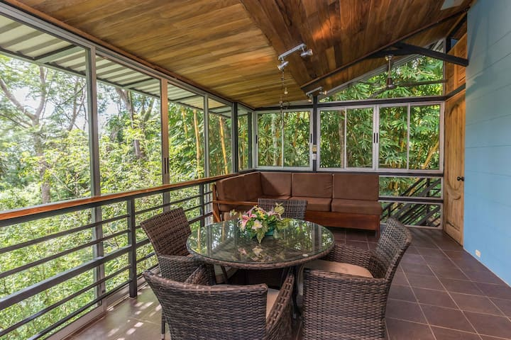 The Parrita Lookout Tree House,