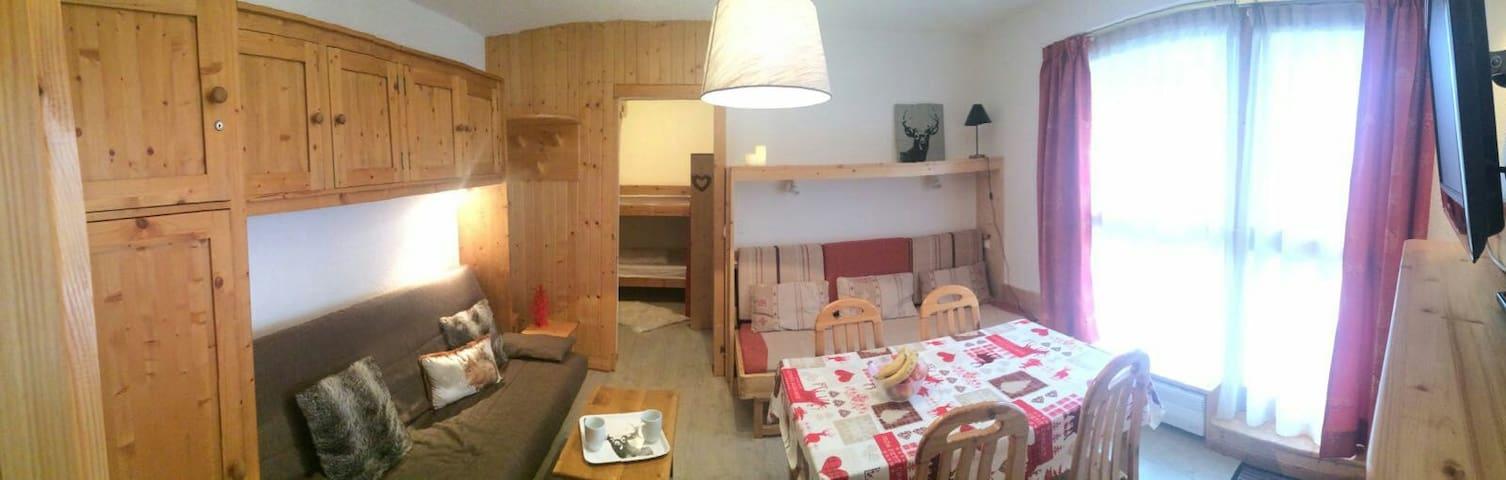 Appartement cosy à La Norma en Savoie, vue pistes - Villarodin-Bourget La norma