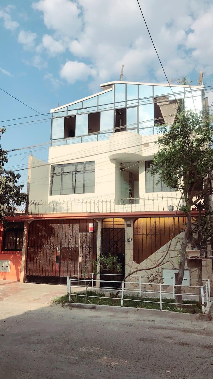 Habitaciones Privadas en Ica con Baño propio