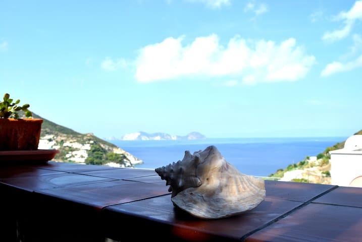 Oasi Fiorita ☼ Terrazza con panorama sul mare