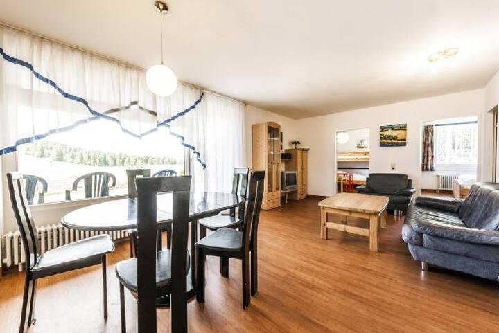 Ferienwohnungen am Feldberg, (Feldberg), Ferienwohnung SCHWALBE, 65qm, 2 Schlafzimmer, max. 4 Personen