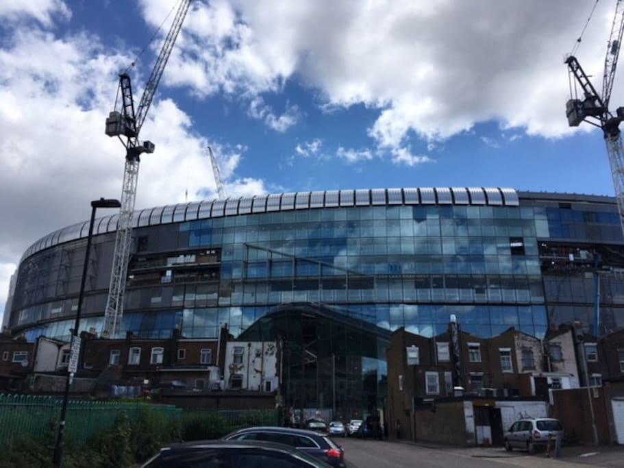 Tottenham stadium today