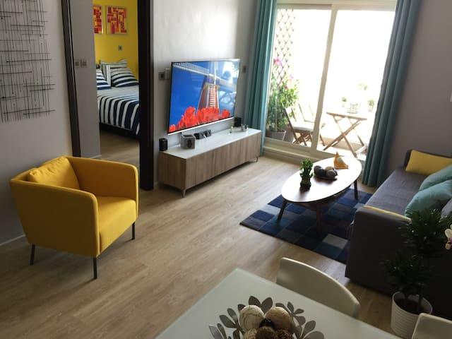 CONTEMPORARY APARTMENT W/ BALCONY ON REEM ISLAND - Abu Dhabi - Apartment