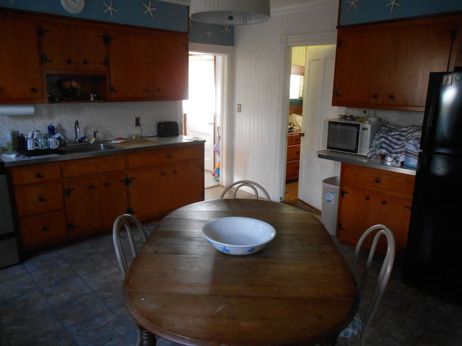 Kitchen (door to bedroom here)