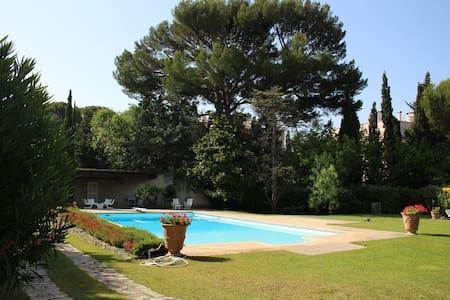 Superb villa pool and tennis court - La Ciotat - La Ciotat