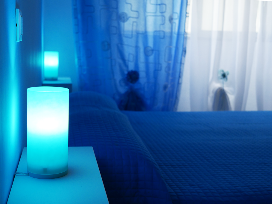 la stanza blu
