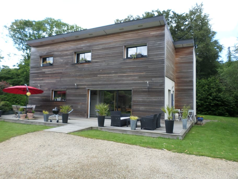 Chambre d hotes les 4 epices houses for rent in la roche for Chambre d hote brittany