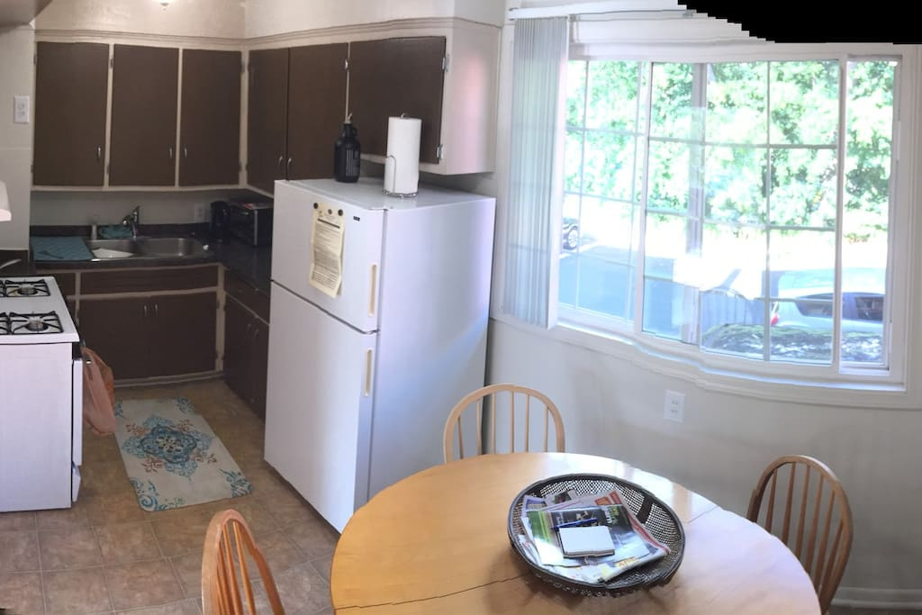This is the kitchen (shared space)