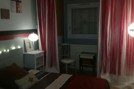 Chambre privée ds appart chaleureux - Jouy-le-Moutier