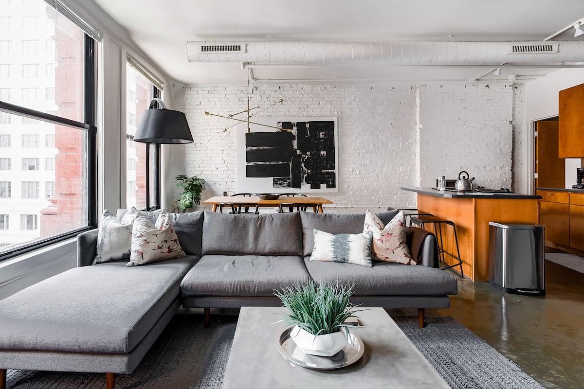 Zen Urban Abode Overflowing with Industrial Elegance