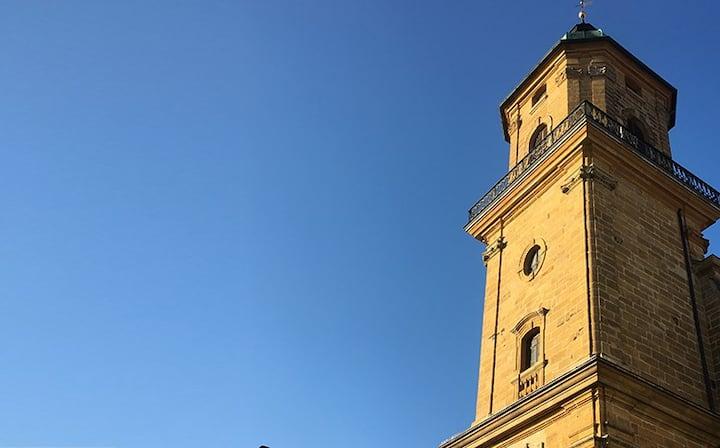 An der Stadkirche AALEN - Alter Kirchplatz