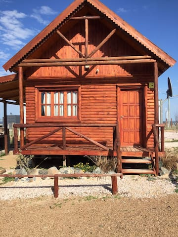Log Cabin, San Luis, Uruguay, 300 m from the beach