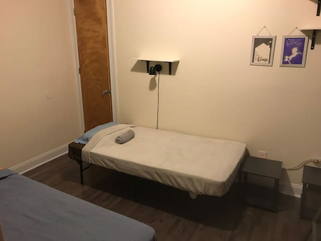 MALE Single Bed in Shared Room