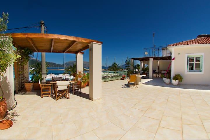 Seafront Terrace at Sami, Kefalonia (Cephalonia)