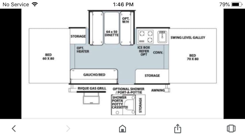 Pop tent camper book for warf rat rally