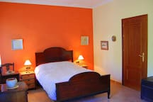 large airy double room
