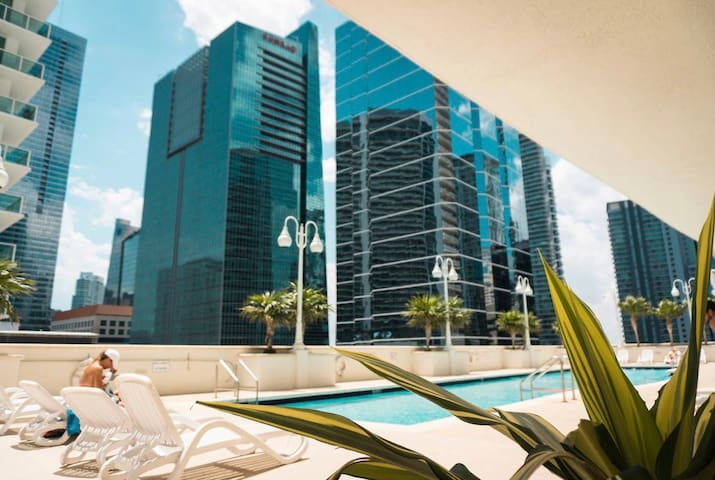 LUXURY STUDIO AT BRICKELL BAY MIAMI FREE-PARKING