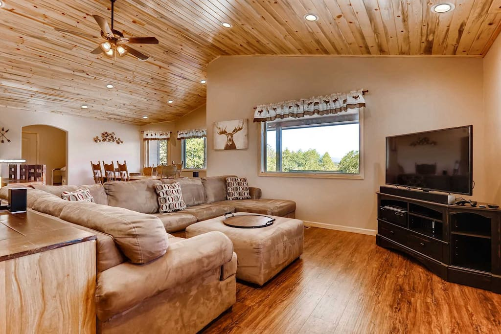 Wrap around comfort, and space to relax and entertain.