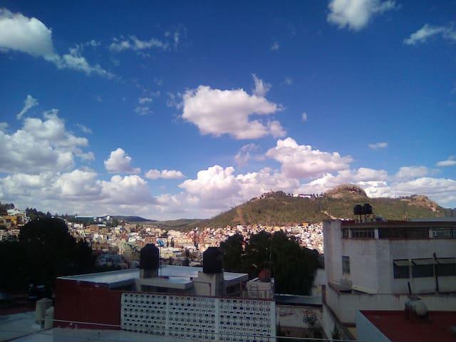 Habitación privada en el centro de Zacatecas