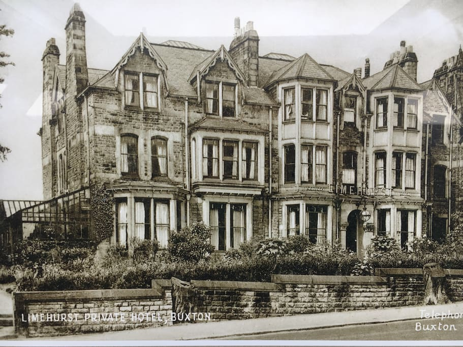 The original Limehurst 'pension' Hotel in the early 1900's